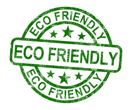 Eco Friendly Stamp As Symbol For  Recycling Or Nature Stock Photo - 14081111