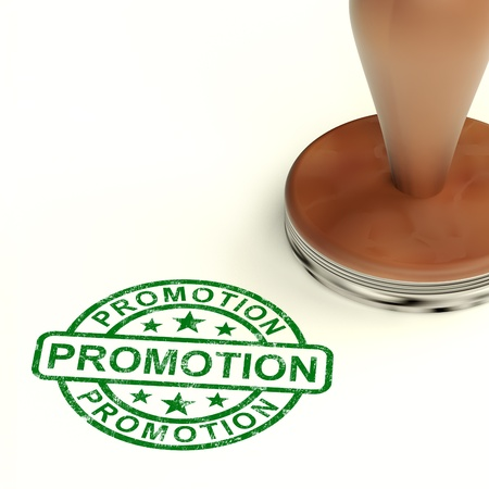 Promotion Stamp Shows Sale And Reductions Stock Photo - 14081079