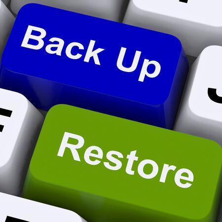 Sichern und Wiederherstellen von Keys für Computer Data Security