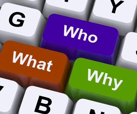 Wer Was Warum Keys anzeigen Confusion und Choice