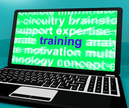 elearn: Online Training Computer Message Showing Web Learning