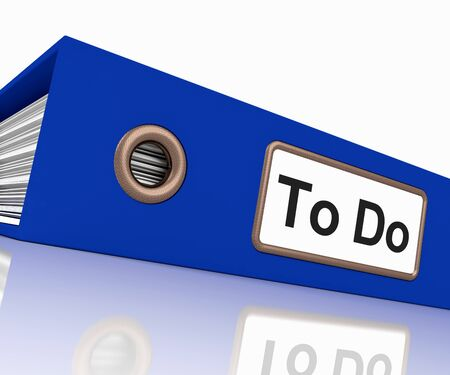 organizing: To Do File For Organizing Your Tasks