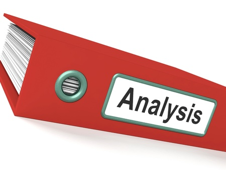 Analysis File Contains Data And Analyzing Documents Stock Photo - 15084652