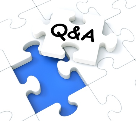 Q&A Puzzle Shows Frequently Asked Questions And Answers