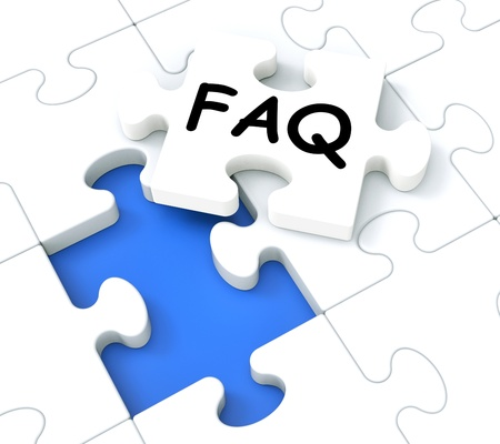 inquiries: FAQ Puzzle Shows Inquiries, Questions And Requests