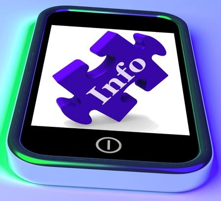 advisory: Info On Smartphone Shows Information Providing And Advisory
