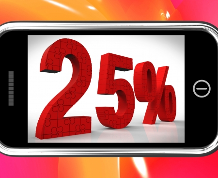 25% On Smartphone Shows Price Reductions And Bargains  photo