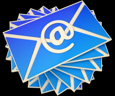 suppliers: Envelope Showing E-mail Online To Communicate Information