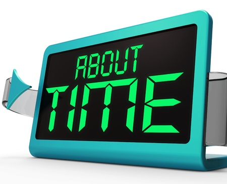 tardiness: About Time Clock Showing Late And Tardiness
