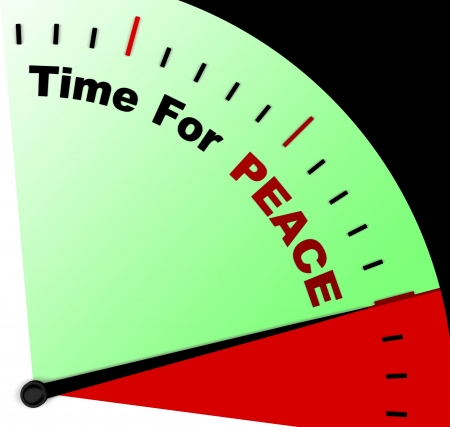 anti war: Time For Peace Message Meaning Anti War And Peaceful