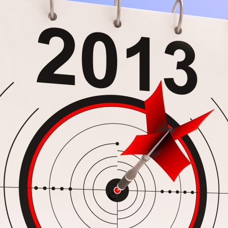 2013 Target Meaning Business Plan Progress Forecast photo