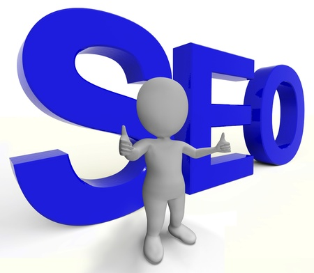 Seo Word Representing Internet Optimization And Promotion Stock Photo - 18271112