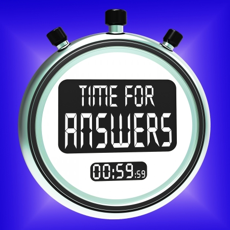wiki: Answers Word On Clock Meaning Solution Knowledge And Wiki Stock Photo