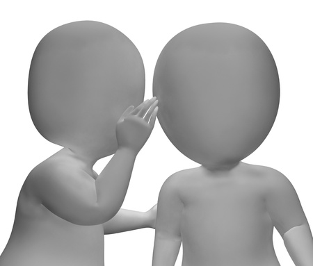 blab: Whispering Gossip 3d Characters Have Secrets And Blab