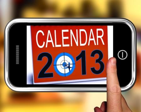 festividades: Calendario 2013 en Smartphone resoluciones futuras que muestra y Fiestas