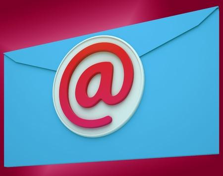 correspond�ncia: Email Envelope Mostrando correspond Banco de Imagens