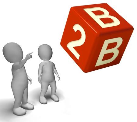b2b: Dados B2b como un signo de Empresas y Sociedad