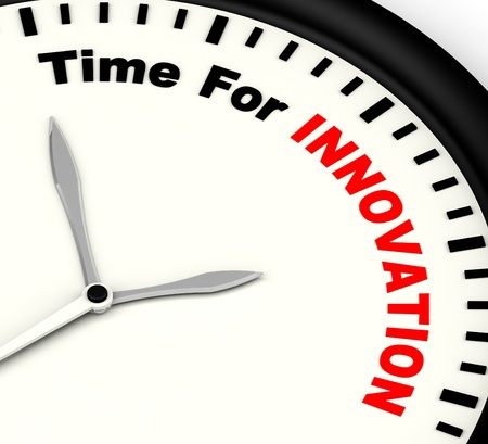 ingenuity: Time For Innovation Shows Creative Development And Ingenuity