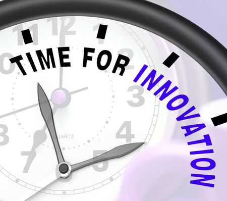ingenuity: Time For Innovation Showing Creative Development And Ingenuity