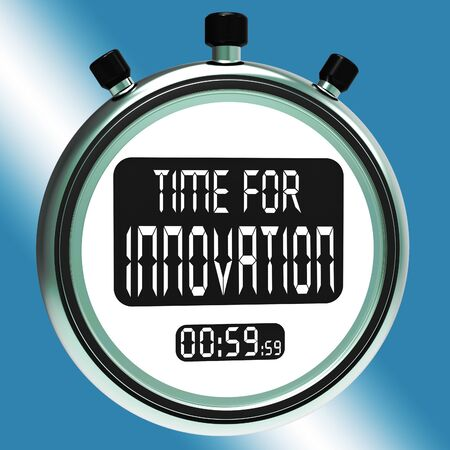 ingenuity: Time For Innovation Meaning Creative Development And Ingenuity