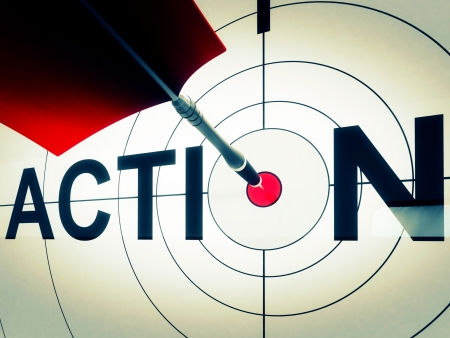 proactive: Action Target Shows Active Motivation, Drive Or Proactive