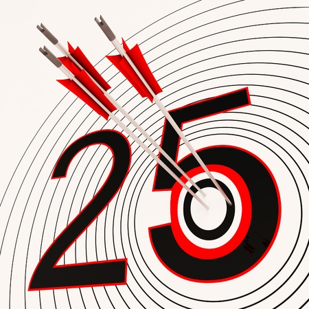 fifth: 25 Showing 25th Anniversary Or Twenty fifth Birthday