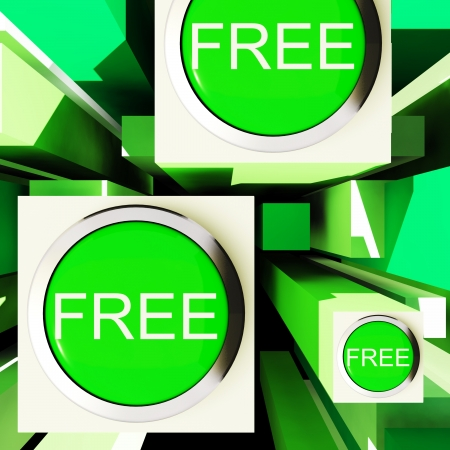 freebie: Free Buttons On Cubes Showing Freebie Products Or Free Trials
