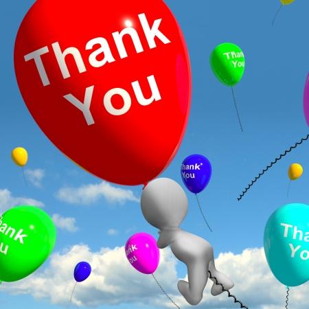 agradecimiento: Gracias Globos Shows Gracias y agradecimiento