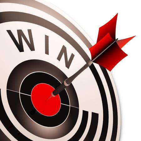 successes: Vinci il target Risultati Successi Winner, del progresso e della Vittoria