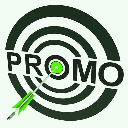 promoted: Promo Target Showing Promoted Shopping Price Sale
