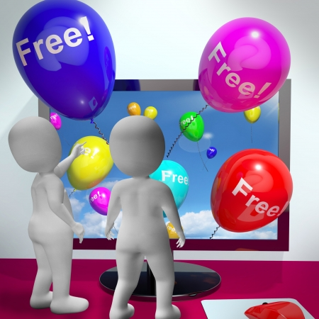freebie: Balloons With Free Shows Freebies and Promotions Online