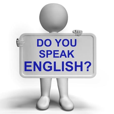 języki: Czy mówisz po angielsku Zaloguj Pokazy nauki języków obcych Zdjęcie Seryjne
