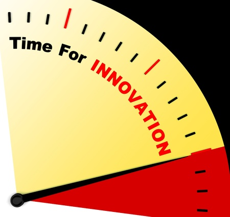ingenuity: Time For Innovation Represents Creative Development And Ingenuity