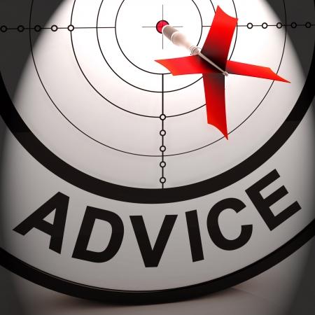 informait: Conseils Signification Assistance Aide inform�s et encourage