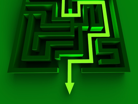 way out: Solving Maze Shows Puzzle Way Out Strategy