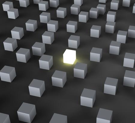 Bloquear iluminado Unique Muestra Salirse y diferente