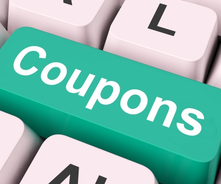 meaning: Coupons Key On Keyboard Meaning Voucher Token Or Slip
