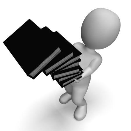 clumsy: Archivos cuentagotas Muestra Clerk desorganizado y Clumsy