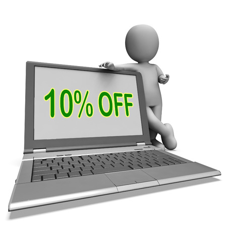 deduction: Ten Percent Off Monitor Meaning Deduction Or Sale Online
