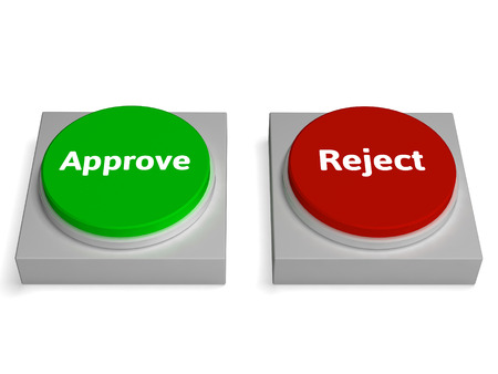 approvement: Approve Reject Buttons Shows Approving Or Rejecting