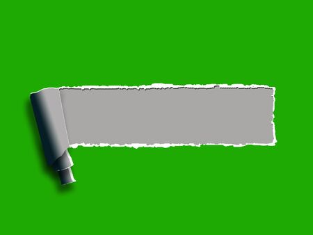 Torn Paper Background Showing Blank Copyspace Ripped Note photo