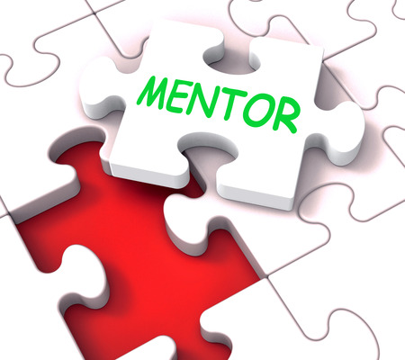 mentors: Mentor Puzzle Showing Advice Mentoring Mentorship And Mentors