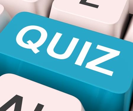 questionnement: Quiz Key Test d'examen de sens ou de questionnement