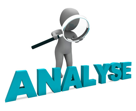 analyzing: Analyse Character Showing Investigation Analysis Or Analyzing