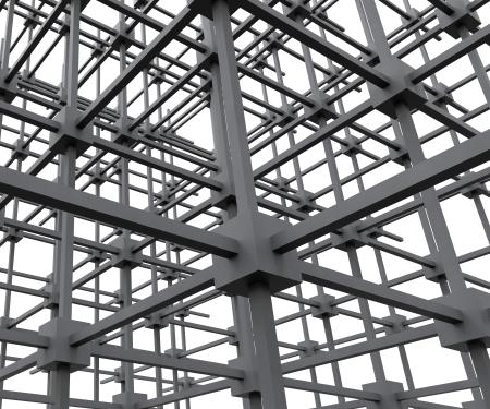 interconnected: Interconectado Estructura de red Muestra Redes y Conectividad Foto de archivo