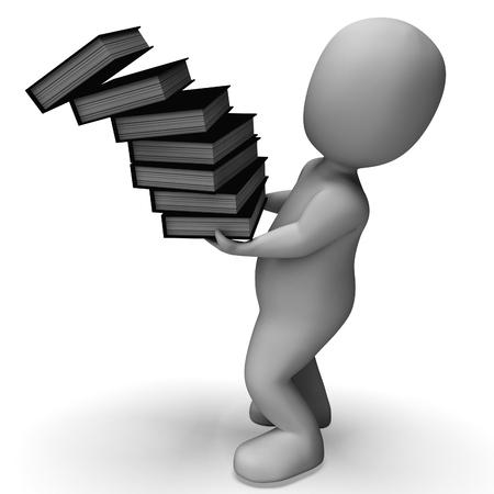 clumsy: Rilasciando i file Visualizzazione disorganizzato e Clumsy Clerk Archivio Fotografico