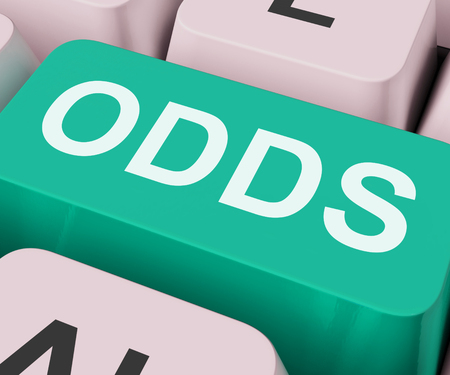 odds: Odds Key Showing Online Chance Or Gambling Stock Photo