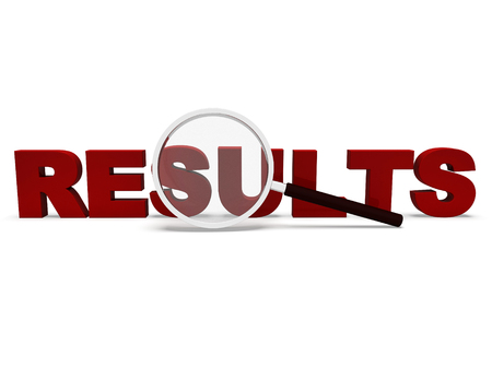 consequence: Results Word Showing Scores Result Or Achievements