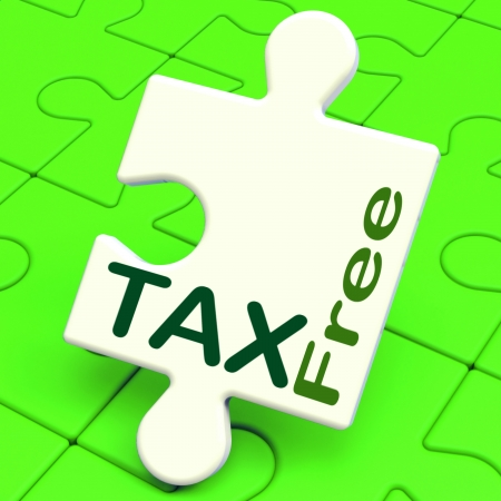 excluded: Tax Free Puzzle Meaning Untaxed Or Duty Excluded