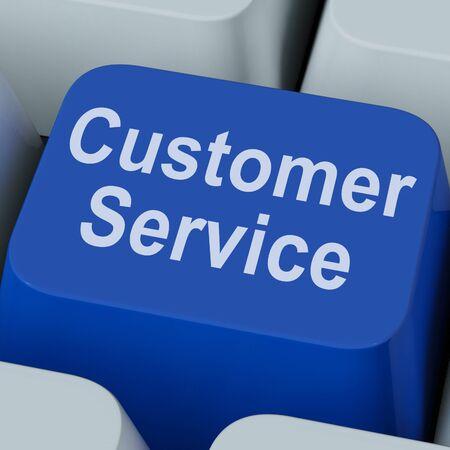 servicio al cliente: Clave del servicio al cliente Mostrando Apoyo al Consumidor en L�nea